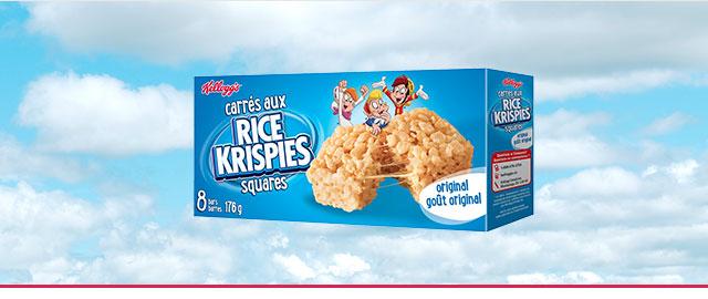Buy 2: Rice Krispies Squares* Bars coupon
