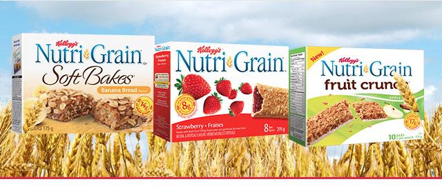 Buy 2: Nutri-Grain* cereal bars coupon