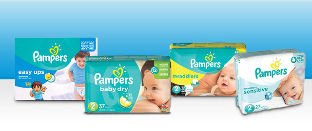 Pampers Diapers coupon