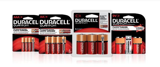 Duracell® Quantum Battery Packs coupon