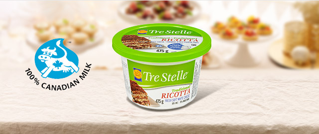 Tre Stelle® Ricotta Cheese  coupon