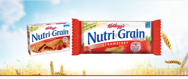 Nutri-Grain* Strawberry Cereal Bars coupon