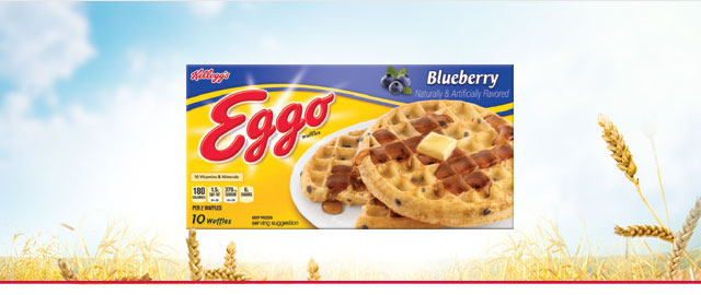 (DUP) Eggo* Blueberry waffles coupon