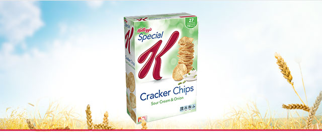 (ORIGINAL) Special K* Sour Cream & Onion Cracker Chips coupon