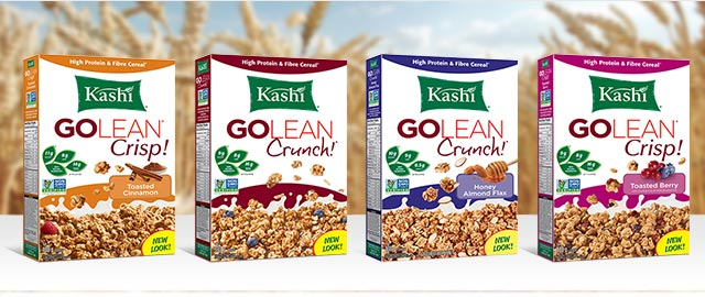 Kashi GOLEAN* NON-GMO Project Verified Cereal coupon