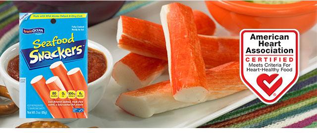 At Meijer: Buy 3 Trans-Ocean Seafood Snackers coupon