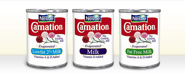 Buy 2: CARNATION® Evaporated Milk Cans  coupon