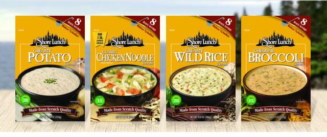 Shore Lunch® Premium Soup Mixes coupon