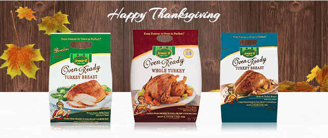 At Select Retailers: JENNIE-O® OVEN READY™ Turkey coupon