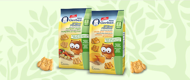 NESTLÉ® GERBER Lil'Whoos™ Crackers coupon