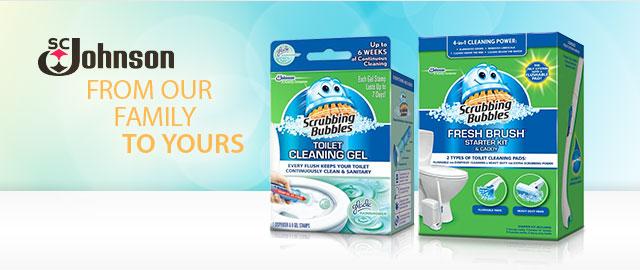 Scrubbing Bubbles® Toilet coupon