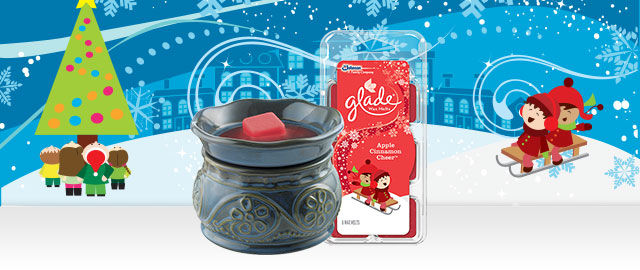 Combo Offer: Glade® Wax Melts Wamer + Wax Melts Refills coupon