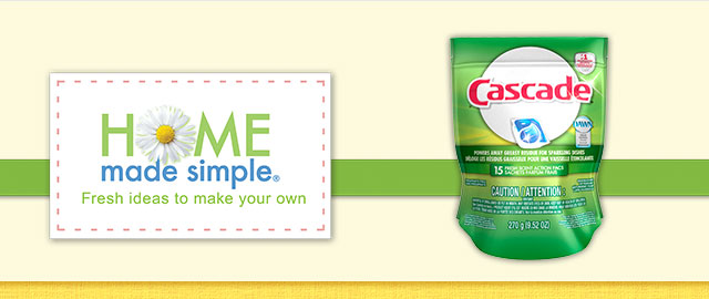 Cascade® ActionPacs coupon