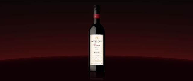 Jacob's Creek® Reserve Barossa Shiraz* coupon