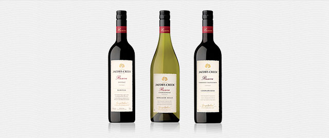 Buy 2: Jacob's Creek® Reserve wines* coupon