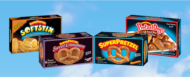 Buy 2: SUPERPRETZEL® Products coupon