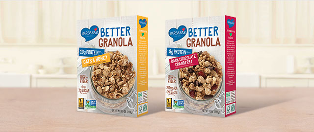 At Giant: Barbara's Better Granola coupon