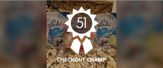Congrats Rhonda! You're the Checkout Champ :) coupon