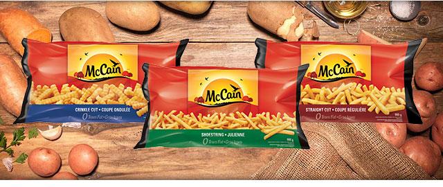 At Select Retailers: McCain® Fries coupon