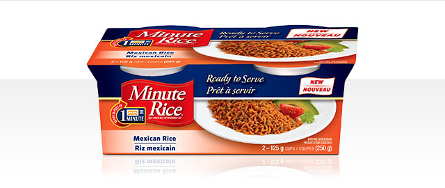 Minute Rice Ready to Serve Mexican Rice Cups coupon