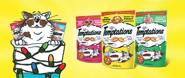 Buy 3: TEMPTATIONS® Cat Treats coupon