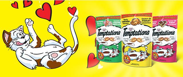 Buy 2: TEMPTATIONS® Cat Treats coupon