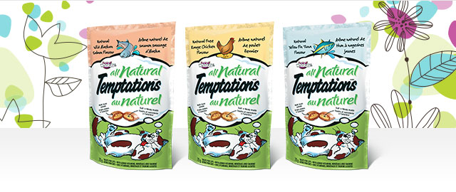 TEMPTATIONS® ALL NATURAL CAT TREATS  coupon