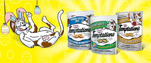 TEMPTATIONS® HEALTHY HELP CAT TREATS coupon