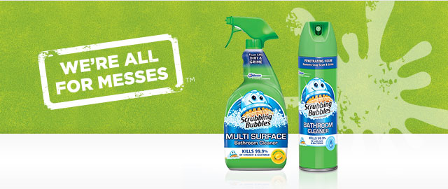 Scrubbing Bubbles® Bathroom coupon