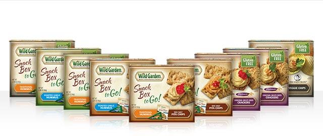 Wild Garden® Snack Boxes coupon
