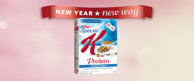 Special K* Protein* cereal coupon