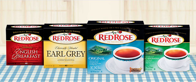 Red Rose® Black Teas coupon