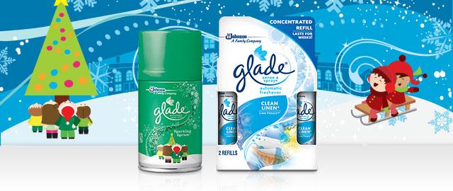Glade® Automatic Spray Refill or Sense & Spray Twin Refill coupon