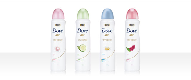 Dove Dry Spray Antiperspirant coupon