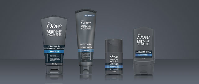 Dove Men+Care® face products coupon