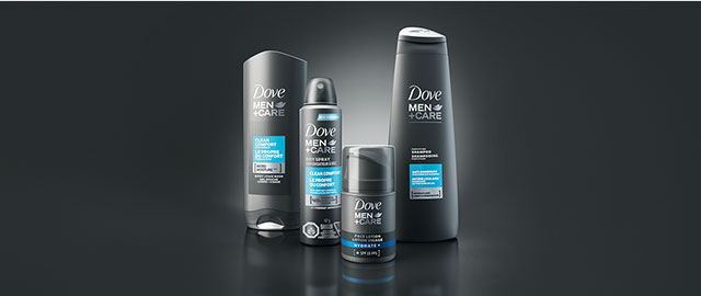 Dove Men+Care® products coupon