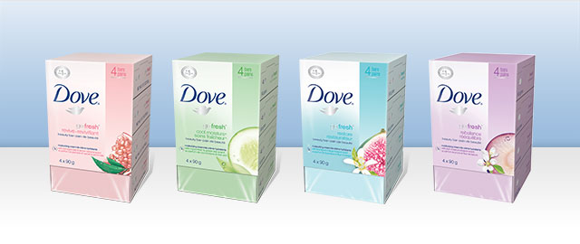 Pain de beauté DOVE coupon
