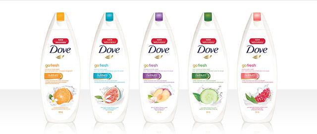 Nettoyant pour le corps Dove coupon