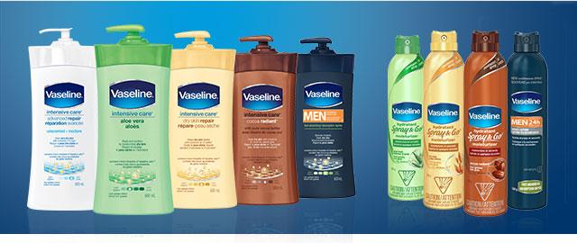 Vaseline® Lotion or Spray Moisturizer coupon