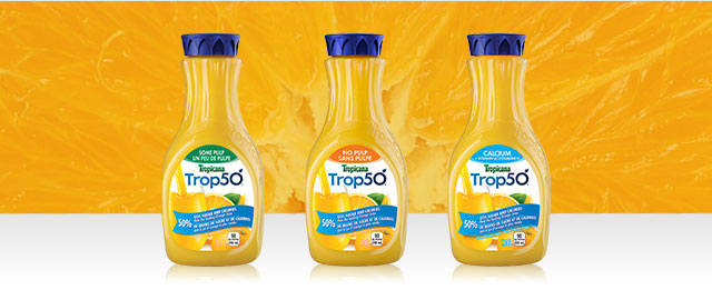 Trop50® Juice Beverage with Vitamins coupon