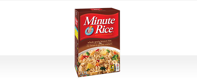 Minute Rice® Premium White or Whole Grain Rice coupon