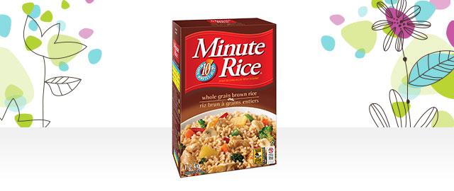 Unlocked! Minute Rice® Premium White or Whole Grain Rice coupon