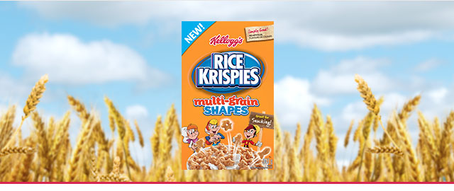 Kellogg's Rice Krispies Multi-Grain Shapes coupon