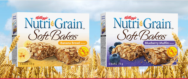 Kellogg's* Nutri-Grain* Soft Bakes* coupon