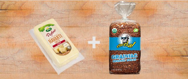 Combo: Arla Dofino® Cheese + Eureka! Bread coupon