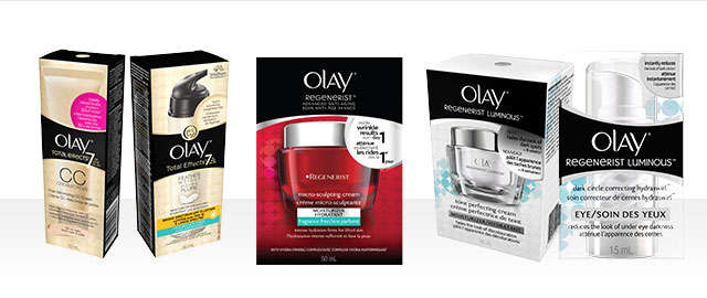 Olay Regenerist & Total Effects products coupon