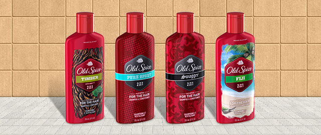 Old Spice Shampoo coupon