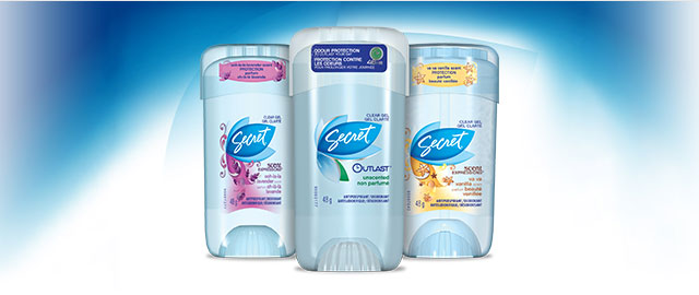 FR - Buy 2: Secret Deodorant coupon