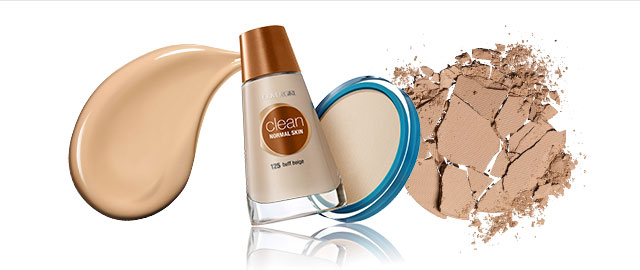 COVERGIRL Clean Foundation and Pressed Powder coupon