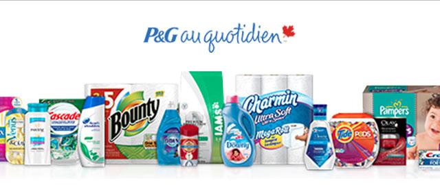 P&G au quotidien en prîme coupon